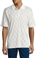 Brooks Brothers Knit Golf Argyle Pique Polo