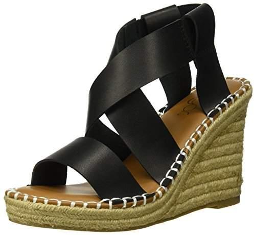 08f7e1055a604 Women's SGR-Hopeful Espadrille Wedge Sandal,8 Medium US