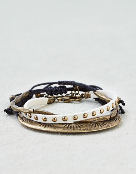 American Eagle Outfitters AE Studded Cord Arm Party