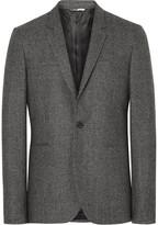 Ps By Paul Smith - Grey Slim-fit Mélange Wool Blazer
