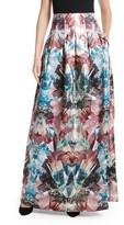 Ted Baker Women's Frelan Mirrored Minerals Print Maxi Skirt