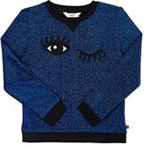 Eleven Paris WINKING-EYES FRENCH TERRY TOP