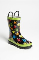 Western Chief 'Monster Party' Rain Boot (Walker, Toddler & Little Kid)