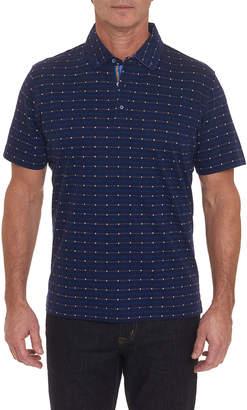 Robert Graham Men's Bedstuy Dot-Pattern Polo Shirt
