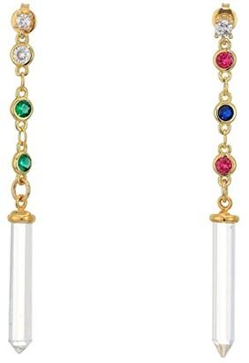 Vanessa Mooney The Bianca Earrings (Gold) Earring