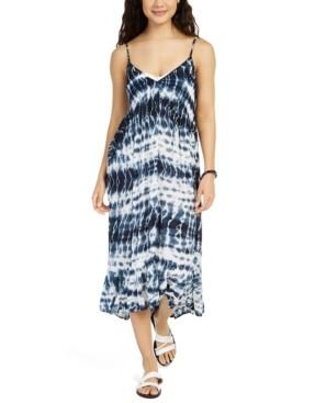 Raviya Sleeveless Tie-Dye Cover-Up Dress Women's Swimsuit