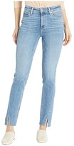 Paige Hoxton Slim Jeans w/ Twisted Seam and Raw Hem in Florencia (Florencia) Women's Jeans