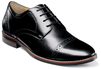Nunn Bush Fifth Ward Flex Cap Toe Oxford