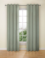 Marks and Spencer Textural Stripe Eyelet Curtain