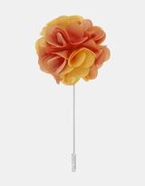 Fabric Lapel Pin - Carnation