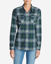 Eddie Bauer Women's Stine's Favorite Flannel Shirt - Plaid