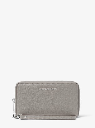 MICHAEL Michael Kors Large Leather Smartphone Wristlet
