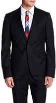 Ted Baker Slick Rick Two Button Notch Lapel Wool Jacket