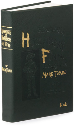 """Graphic Image """"Adventures of Huckleberry Fin"""" Book By Mark Twain, Personalized"""
