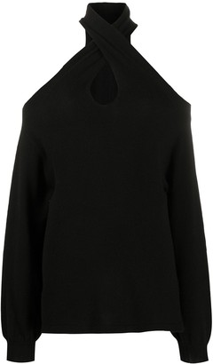 FEDERICA TOSI Cold Shoulder Jumper