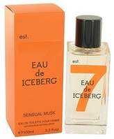 Iceberg Eau De Sensual Musk by Eau De Toilette Spray for Women - 100% Authentic