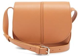A.P.C. Betty Smooth-leather Cross-body Bag - Light Tan