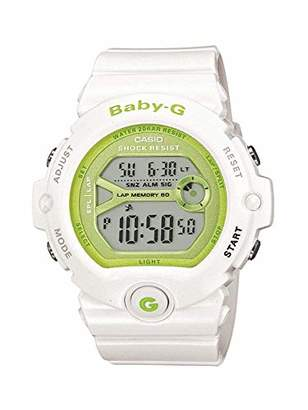 Casio Baby-G Women's Watch BG-6903-7ER, White (Weiß/Grün)