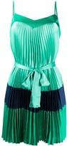 Twin-Set Pleated Short Dress