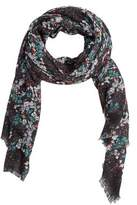 Mango Outlet Floral print scarf