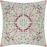 Silken Favours - Flamingo Floral Cushion - 55x55cm