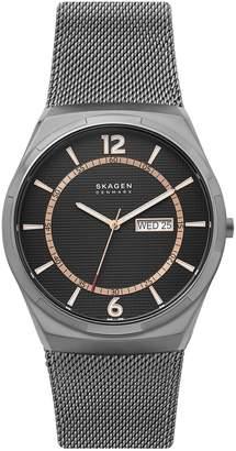 Skagen Melbye Stainless Steel Mesh Bracelet Watch
