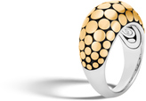 John Hardy Women's Dot 12MM Dome Ring in Sterling Silver and 18K Gold