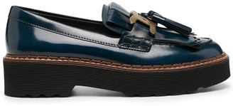 Tod's Kate tassel loafers