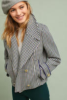 Anthropologie Etienne Checkered Jacket