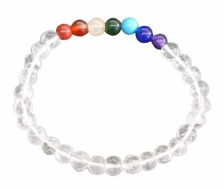 Saraswati Unisex No Metal Stretch Bracelet - AC19