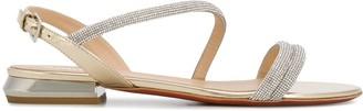 Baldinini Embellished Flat Sandals