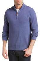 Brooks Brothers Textured 1/2-zip Pullover.