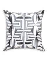 Jonathan Adler Lisbon Satin-Stitch Pillow