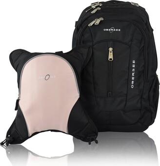Obersee Baby Boys' O3BBPCA025 Bern Diaper Backpack Shoulder Bag with Food Cooler Clip to Stroller