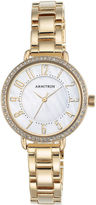 Armitron Now Womens Gold Tone Watch -75/5471mpgp