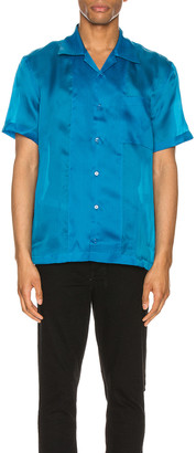 Helmut Lang Casual Fit Shirt in Topaz | FWRD