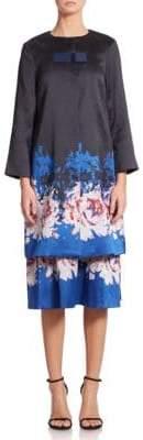 Suno Floral-Print Jacket
