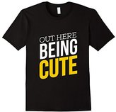 Cutex Out Here Being Cute T-Shirt