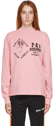 Palm Angels Pink Exotic Club T-Shirt