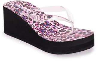 Betsey Johnson High-Wedge Sandals