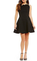 Keepsake Between Friends Strapless Ruffle Mini Dress
