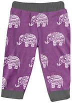 Urban Smalls Purple Boho Elephant Harem Pants - Infant