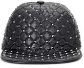 Valentino Rockstud leather hat
