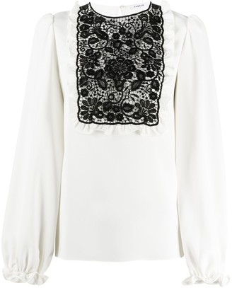 P.A.R.O.S.H. Lace-Chest Blouse