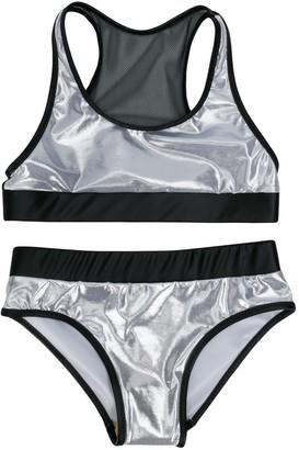 Andorine Metallic-Tone Bikini Set