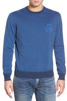 Psycho Bunny 'SW146' Stripe Crewneck Sweater