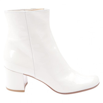 Gianvito Rossi Beige Leather Ankle boots