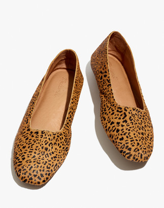 Madewell The Cory Flat in Leopard Calf Hair
