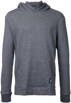 GUILD PRIME logo patch hoodie - men - Cotton - 1