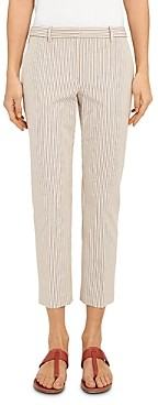 Theory Treeca 4 Striped Cropped Pants